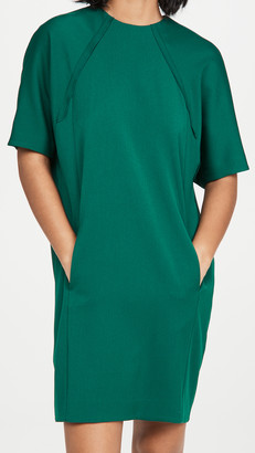 Victoria Victoria Beckham Cocoon Recycled Polyester Dress