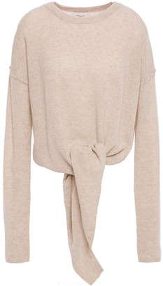 Charli Christa Tie-front Cashmere Sweater