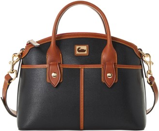 Dooney & Bourke Camden Saffiano Domed Satchel