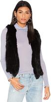 525 America Real Natutral Rabbit Fur Vest