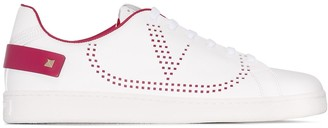 Valentino Backnet perforated sneakers