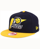New Era Indiana Pacers HWC Logo Stacker 9FIFTY Snapback Cap