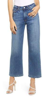 Paige Vintage - Nellie High Waist Crop Culotte Jeans