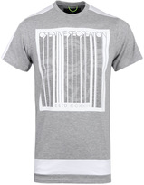 Creative Recreation Crandal Grey Marl Printed T-shirt