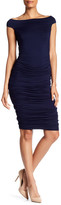 Bailey 44 Off-the-Shoulder Ruched Dress