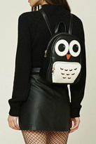 Forever 21 FOREVER 21+ Owl Faux Leather Mini Backpack
