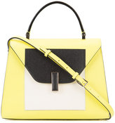 Valextra contrast-colour bag - women - Leather - One Size