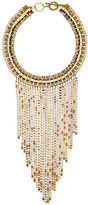 Trina Turk Drama Box Chain Frontal Bib Necklace