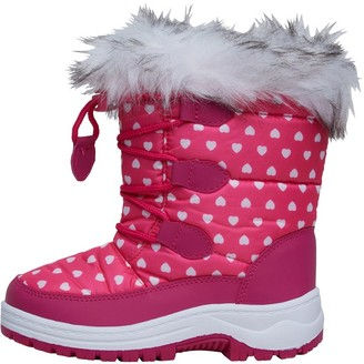 Board Angels Girls Snow Boots Pink