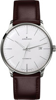 Junghans 027/4310.00 meister classic stainless steel and leather watch