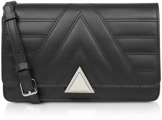 Lancaster Paris Parisienne Matelasse Quilted Leather Crossbody Bag