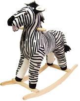 Plush Rocking Animal - Zebra