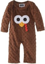 Mud Pie Unisex-Baby Newborn Turkey One Piece