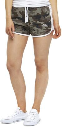 Lazypants Jackie Camo-Print Drawstring Shorts