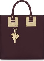 Sophie Hulme Square Leather Tote