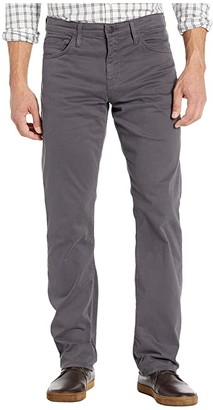 Mavi Jeans Matt Mid-Rise Relaxed Straight Leg in Blackened Pearl Sateen (Blackened Pearl Sateen) Men's Jeans