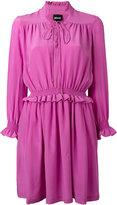 Just Cavalli gathered waist dress - women - Silk/Polyester - 42