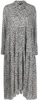 Pinko leopard-print shirt dress