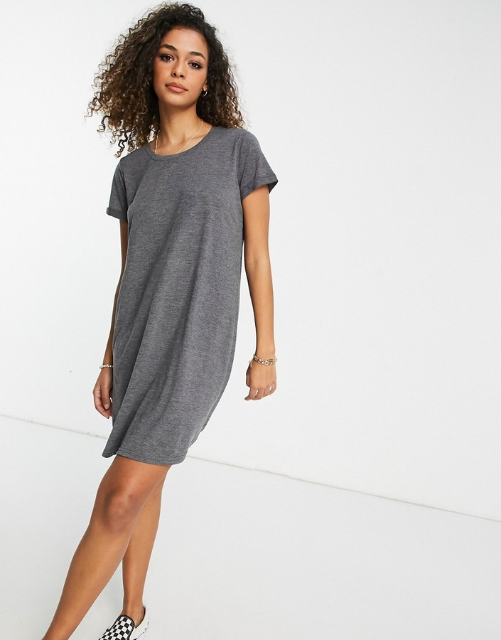 Cotton On Cotton:On tshirt dress in black marble