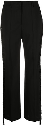 Golden Goose Abigail tassel-stripe trousers