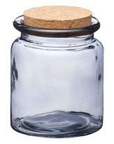 Kitchen Craft Natural Elements Smoky Glass Jars