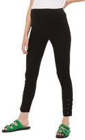 Topshop Women's Lace-Up Ankle Maternity Leggings