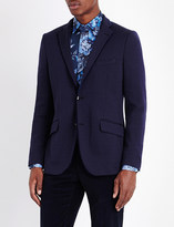 Etro Tipped jersey jacket