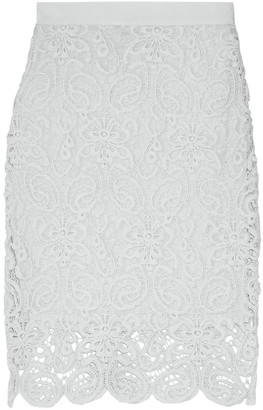 Miguelina Scarlett Cotton-lace Skirt