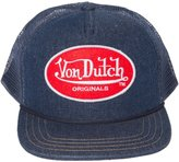 Von Dutch Men's OG Patch Red Trucker Hat
