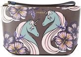 Furla Printed Make Up Clutch
