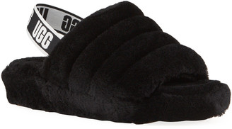 UGG Fluff Yeah Shearling Sandal Slippers