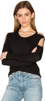 Chaser Thermal Cold Shoulder Tee