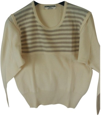 Sonia Rykiel Ecru Wool Knitwear for Women Vintage