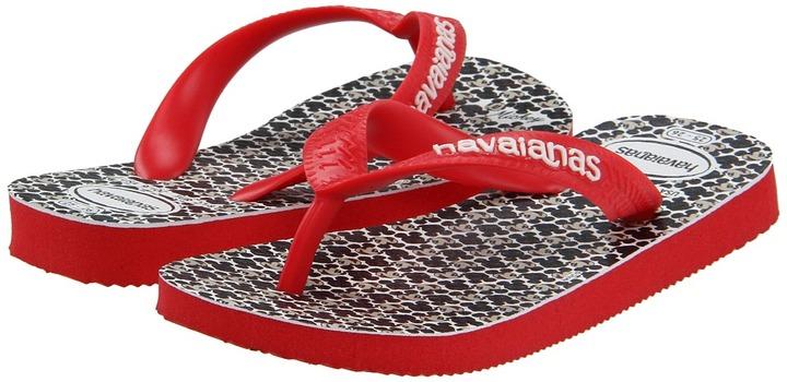 Havaianas Disney Stylish (Toddler/Little Kid/Big Kid) (Ruby Red) - Footwear