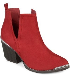 Journee Collection Women's Issla Bootie Women's Shoes