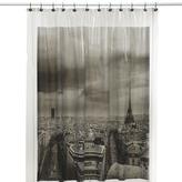 Bed Bath & Beyond Paris Vinyl Shower Curtain
