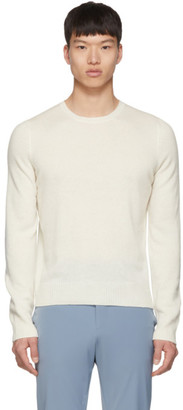 Prada Off-White Cashmere Sweater