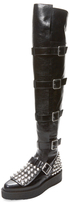 Marc by Marc Jacobs Marlow Show Over The Knee Creeper Boot