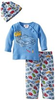 Zutano Baby-Boys Infant Motorway Long Sleeve Raglan Hat And Pant Set