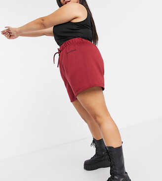 New Girl Order Curve high waisted jogger shorts