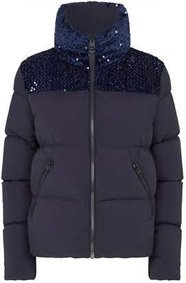 Mackage Sequin-Embellished Tory Down Jacket