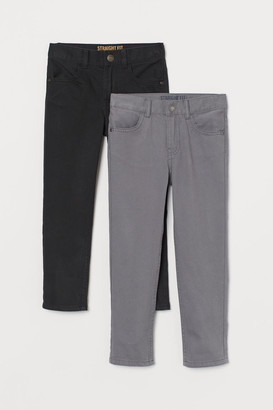 H&M 2-pack trousers Regular Fit