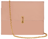 Alice + Olivia Rose Tan Alba Flap Clutch