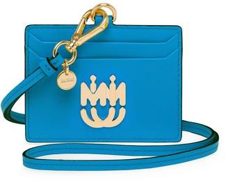 Miu Miu Strap Detail Leather Cardholder