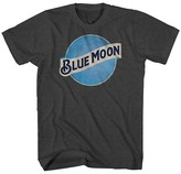 Blue Moon Men's Big & Tall T-Shirt Charcoal Grey