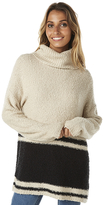 Billabong Wild Shores Knit Turtleneck Natural