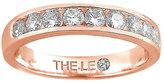 Leo Diamond 18ct rose gold 0.50ct I-P1 diamond eternity band