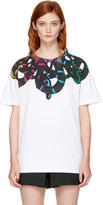 Marcelo Burlon County of Milan White Tico T-Shirt