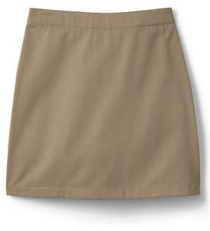 Lands' End Girls School Uniform Above the Knee Chino Skort, Sizes 4-16