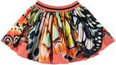 Molo Girl's Brenda Butterfly Wing Print Skirt, Size 2T-12